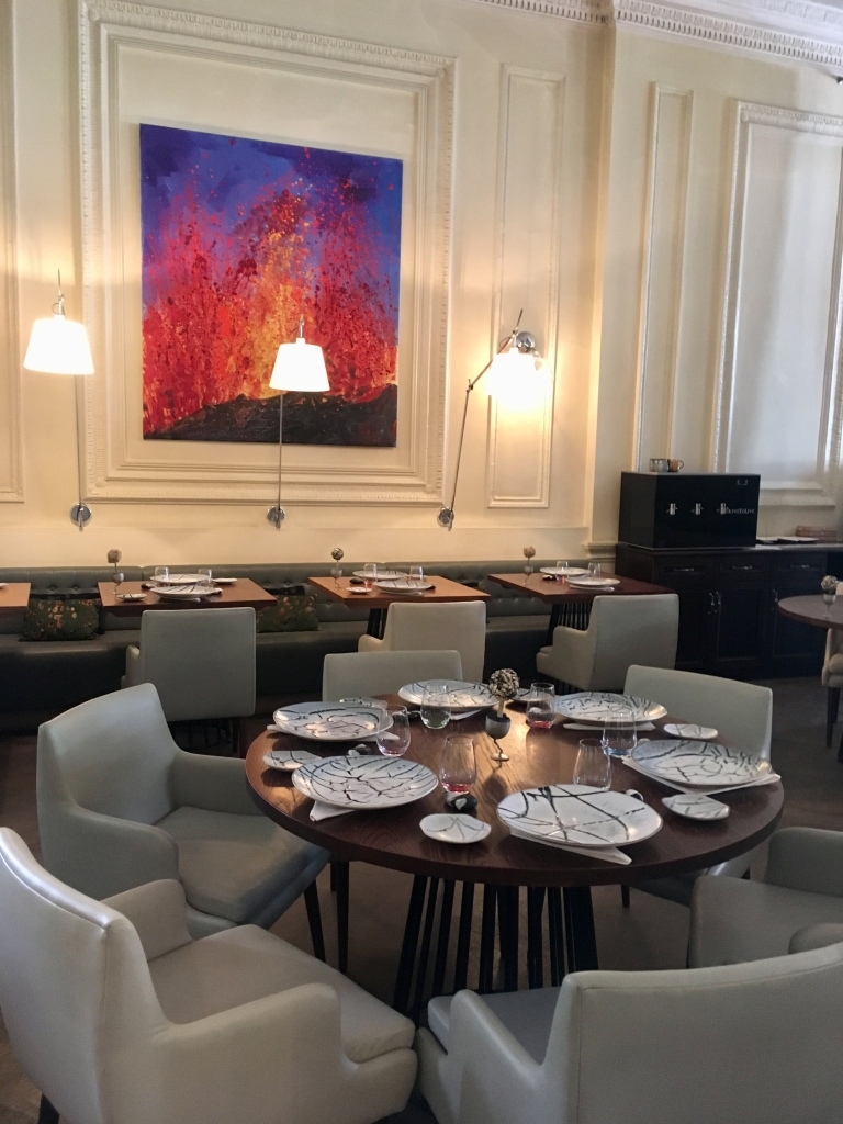 Texture: restaurant interior